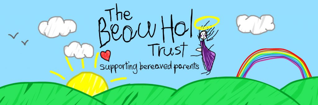 The Beau Halo Trust Logo Header